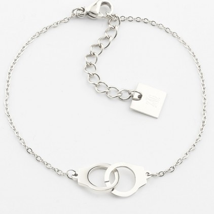 Bracelet Cuff – Acier - ZAG