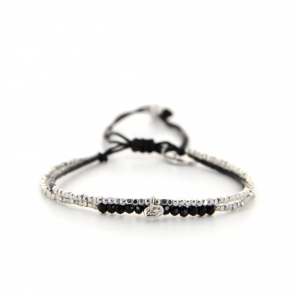 Bracelet Black Rock Silver - BELLE MAIS PAS QUE