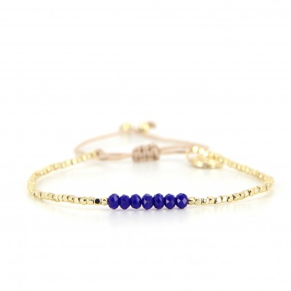 Bracelet Winter Deep Blue - BELLE MAIS PAS QUE