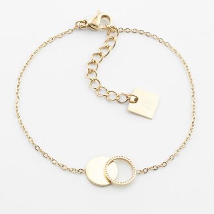 Bracelet Cantor – Acier doré - ZAG