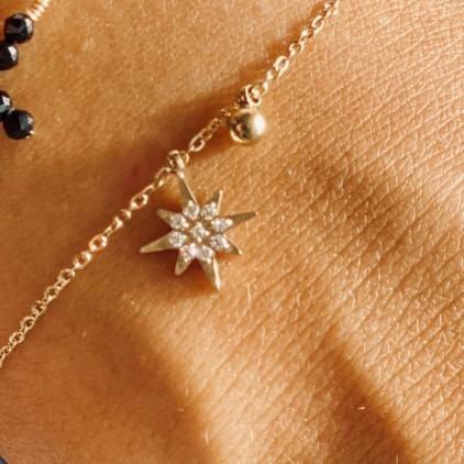 Bracelet Magellan – Acier doré - ZAG