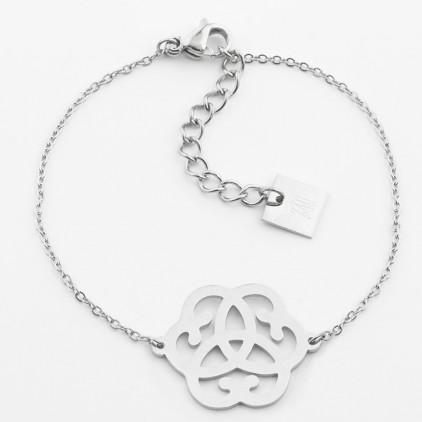 Bracelet Arabesque – Acier - ZAG