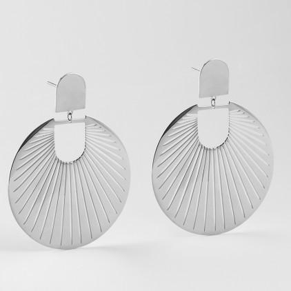 Boucles d'oreilles Mandarin – Acier - ZAG