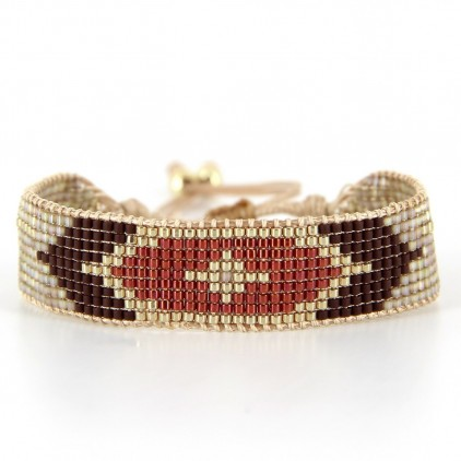 Bracelet Rusty Gold - BELLE MAIS PAS QUE